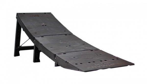 Active draagbare ramp Jumpack zwart