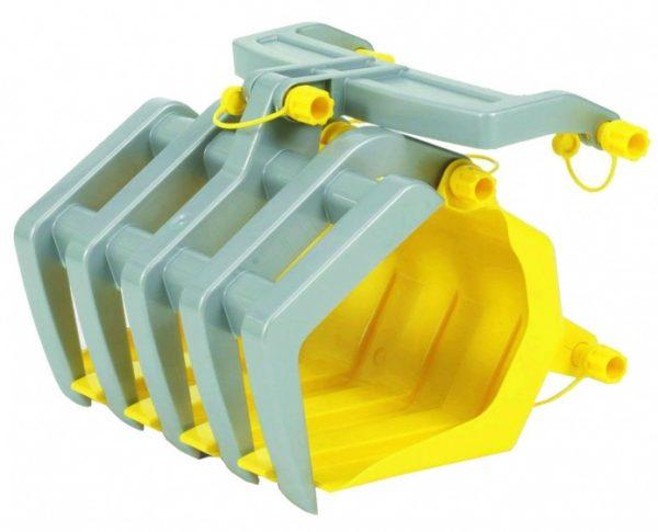 Rolly Toys grijper RollyTimber geel/grijs
