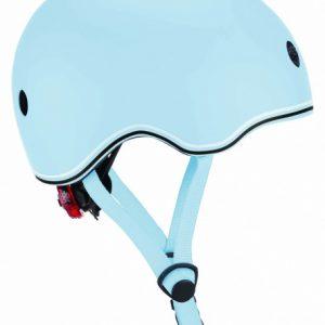 Globber helm Go Up Lights Pastel junior blauw