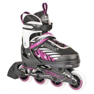 Hudora Inline Skates maat 29-32 zwart/lila