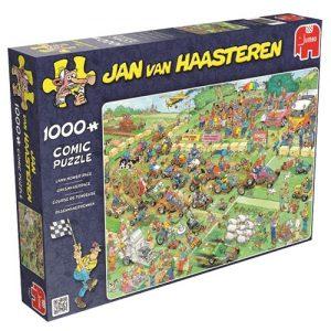 Jumbo puzzel Jan van Haasteren Grasmaaierrace (1000)