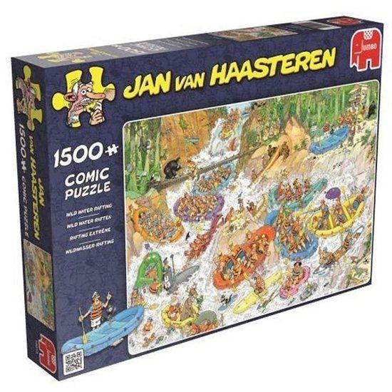 Jumbo Puzzel Jan Van Haasteren Wild Water Rafting (1500)