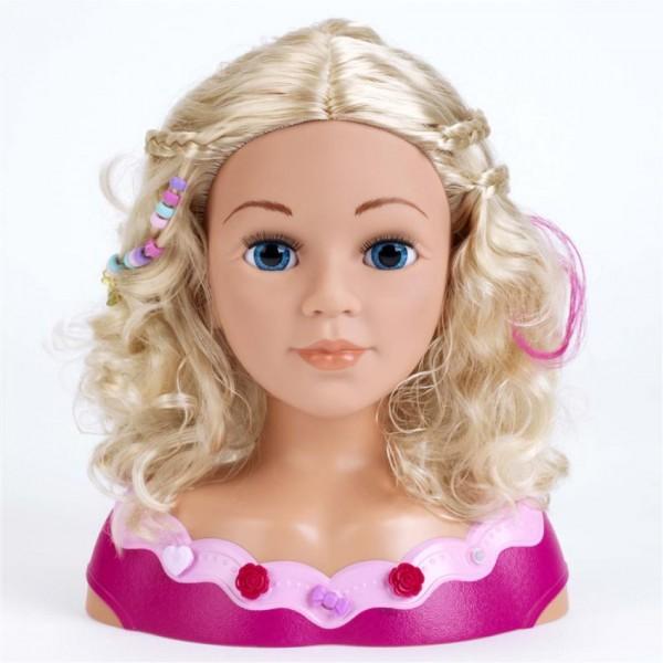 Kapkop met Make-up Prinses Coralie 33cm