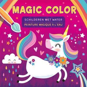 Kleurboek Magic Color Met Water Unicorn