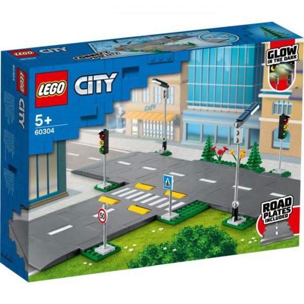 LEGO City 60304 Road Plates