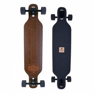 Tempish longboard Bohemia 96 x 21 cm zwart/bruin