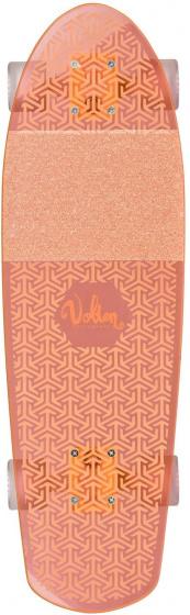 Volten longboard Neon Clear Orange 68