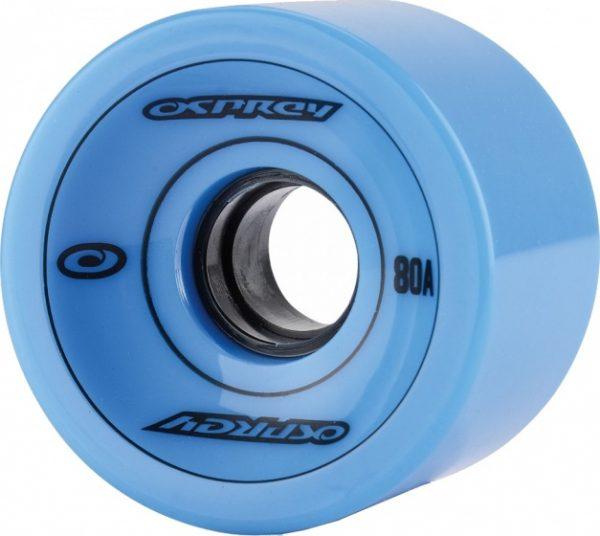 Osprey longboard wielen 75 x 51mm 83A blauw per 4 stuks