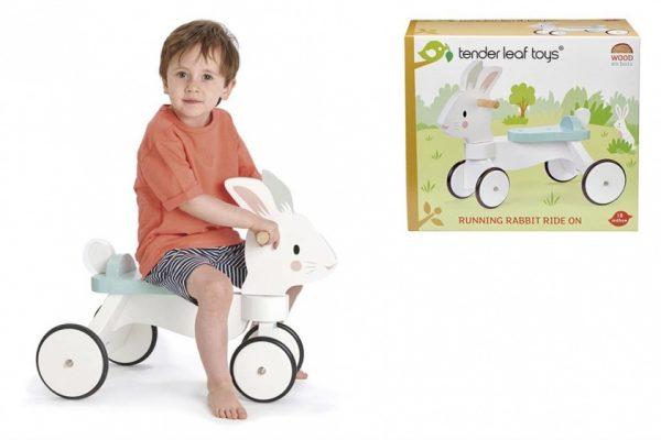Tender Leaf Toys loopfiets Junior Wit