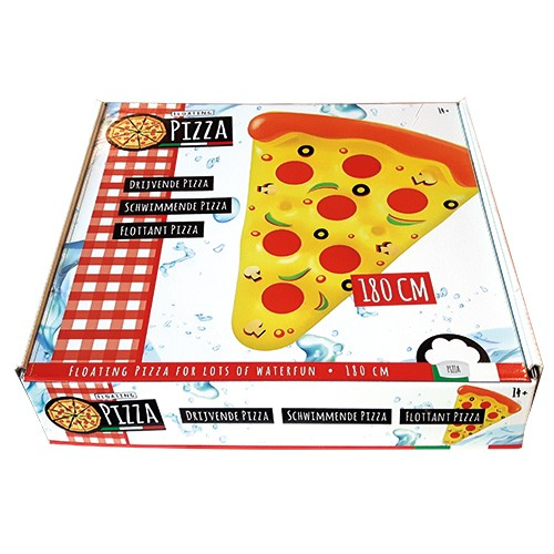 Luchtbed pizza