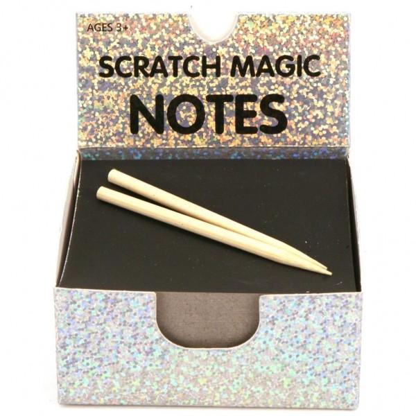 Memoblaadjes Scratch 100 Vel Holografisch