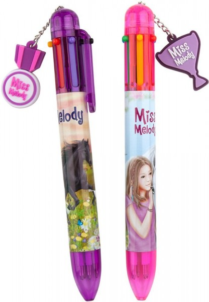 Miss Melody 6 kleurenpen