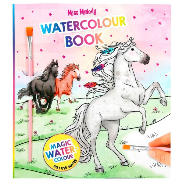 Miss Melody Water Colours Book