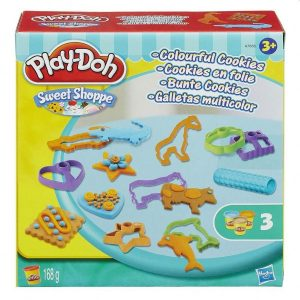 Play Doh Colorful Cookies