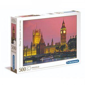 Puzzel Clementoni High Quality Londen (500)