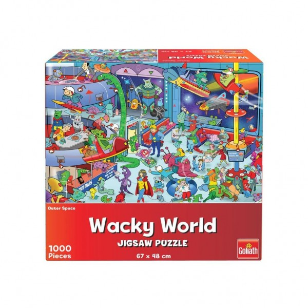 Puzzel Wacky World Outerspace (1000)