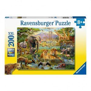 Ravensburger Puzzel Dieren in de Savanne (200XXL)