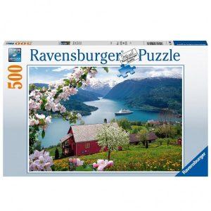 Ravensburger Puzzel Scandinavische Idylle (500)