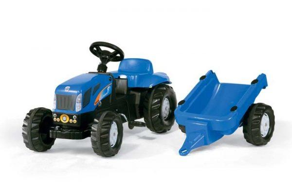 Rolly Toys Tractor met aanhanger New Holland