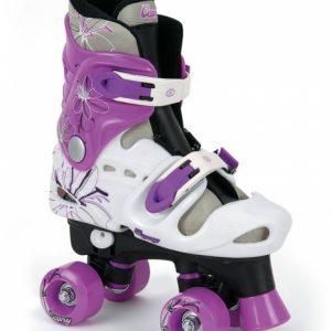 Osprey rolschaatsen verstelbaar meisjes wit/paars