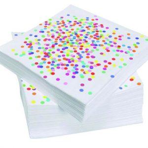 Servetten Confetti