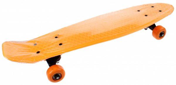 Toi-Toys skateboard 55 cm neon oranje