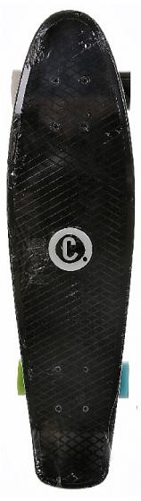 Choke skateboard Big Jim Black 71 cm polypropeen zwart
