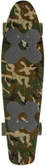 Choke skateboard Big Jim Camo 71 cm polypropeen groen/bruin