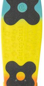 Choke skateboard Big Jim Tricolor 71 cm polypropeen blauw/geel/oranje
