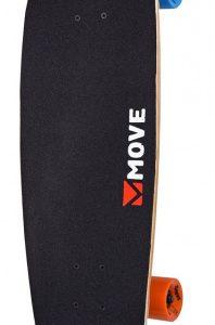Move skateboard Cruiser 76 cm hout/aluminium zwart