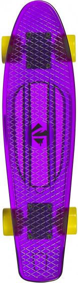 Choke skateboard Juicy Susi Clear Purple 57 cm polypropeen geel