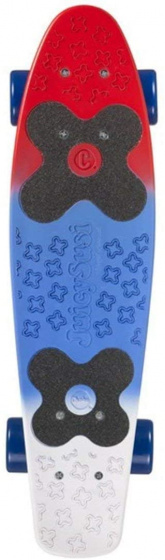 Choke skateboard Juicy Susi Red Blue 57 cm rood/blauw/wit