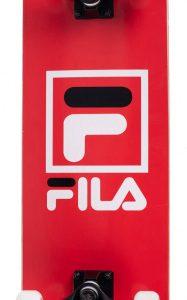 Fila skateboard Logo 20 x 79 cm Abec 7 hout rood