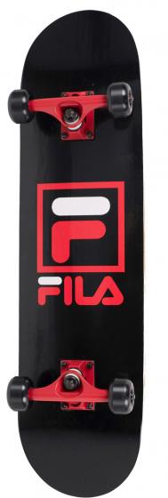 Fila skateboard Logo 79 x 20 cm Abec 7 hout zwart