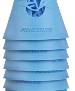 Powerslide skatepion 8 cm blauw 10 stuks
