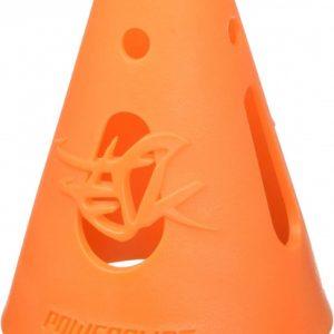 Powerslide skatepionnen 7 x 8 cm oranje 10 stuks