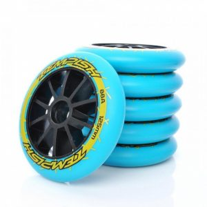 Tempish skatewielen TW 125 mm / 88A blauw 8 stuks