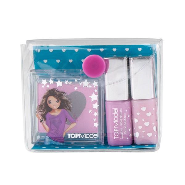 Topmodel Lipgloss En Oogschaduw