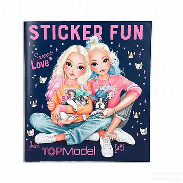 Topmodel Stickerworld Frenchie