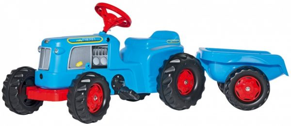 Rolly Toys traptractor RollyKiddy Classic blauw
