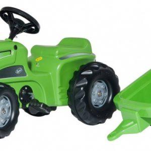 Rolly Toys traptractor RollyKiddy Futura groen