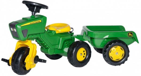 Rolly Toys traptractor RollyTrac John Deere junior groen