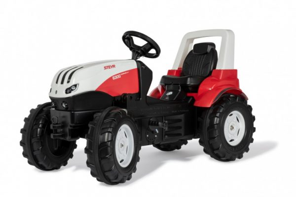 Rolly Toys traptractor Steyr rood/zwart 146 x 52