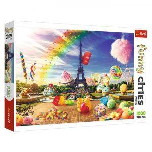 Trefl Puzzel Funny Cities Parijs (1000 Stukjes)