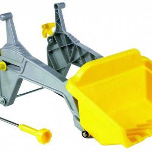 Rolly Toys voorlader RollyKid geel/grijs