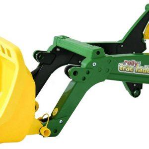 Rolly Toys voorlader RollyTrac John Deere groen/geel