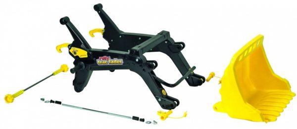 Rolly Toys voorlader RollyTrac geel/grijs