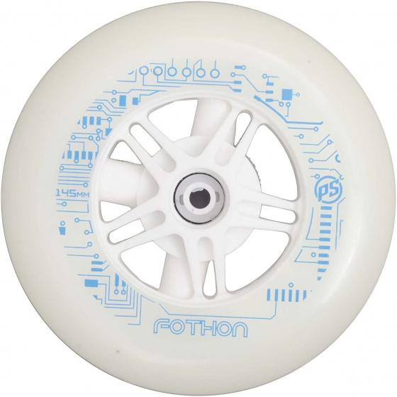 Powerslide wielen Infinity lichtgevend 145 mm/82A wit per stuk