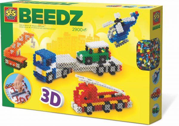 SES Beedz strijkkralen 3D voertuigen OP=OP