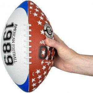 American football large bruin/blauw/wit